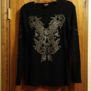 Long sleeve Harley Davidson shirt